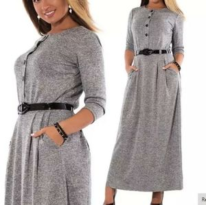 Warm long maxi dresses perfect for winter